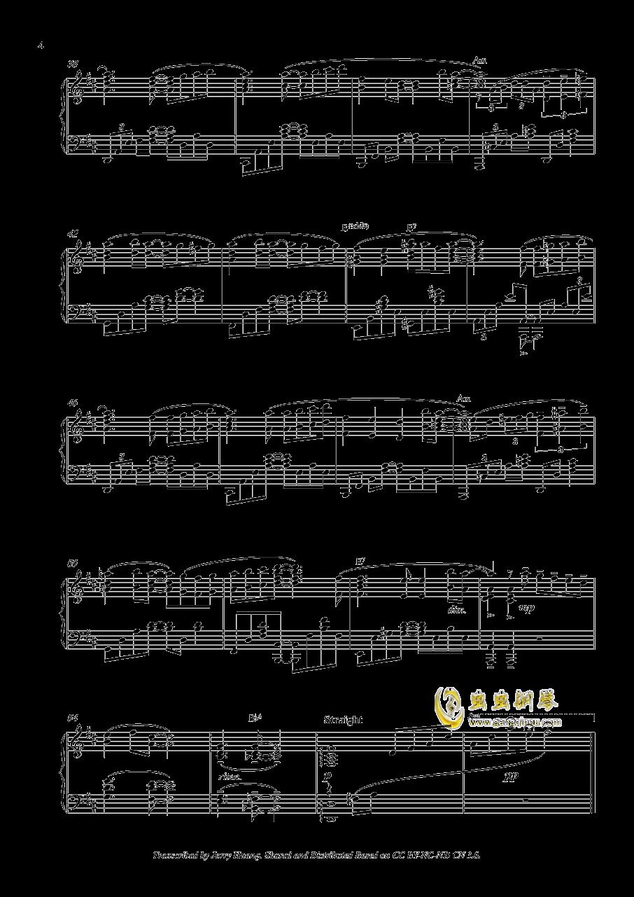 私色ギフト钢琴谱 第4页