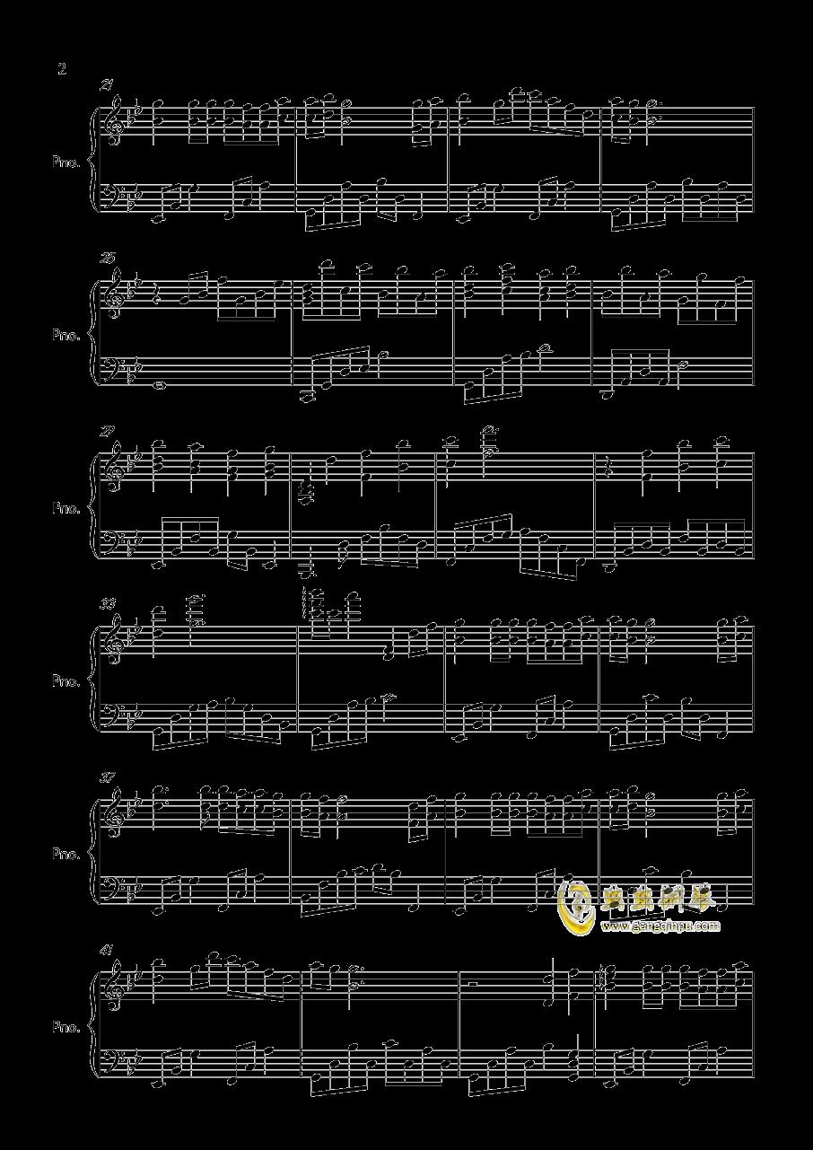 1945钢琴谱 第2页
