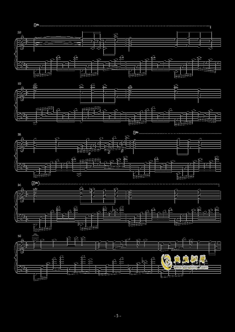 A Little Love钢琴谱 第3页