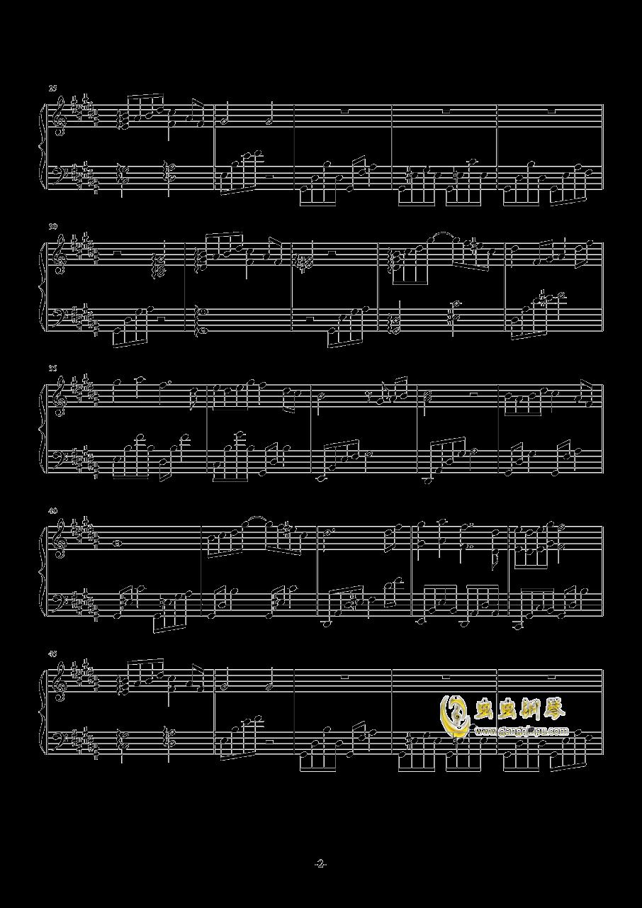�L争钢琴谱 第2页
