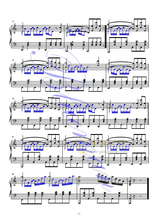 in we 钢琴谱