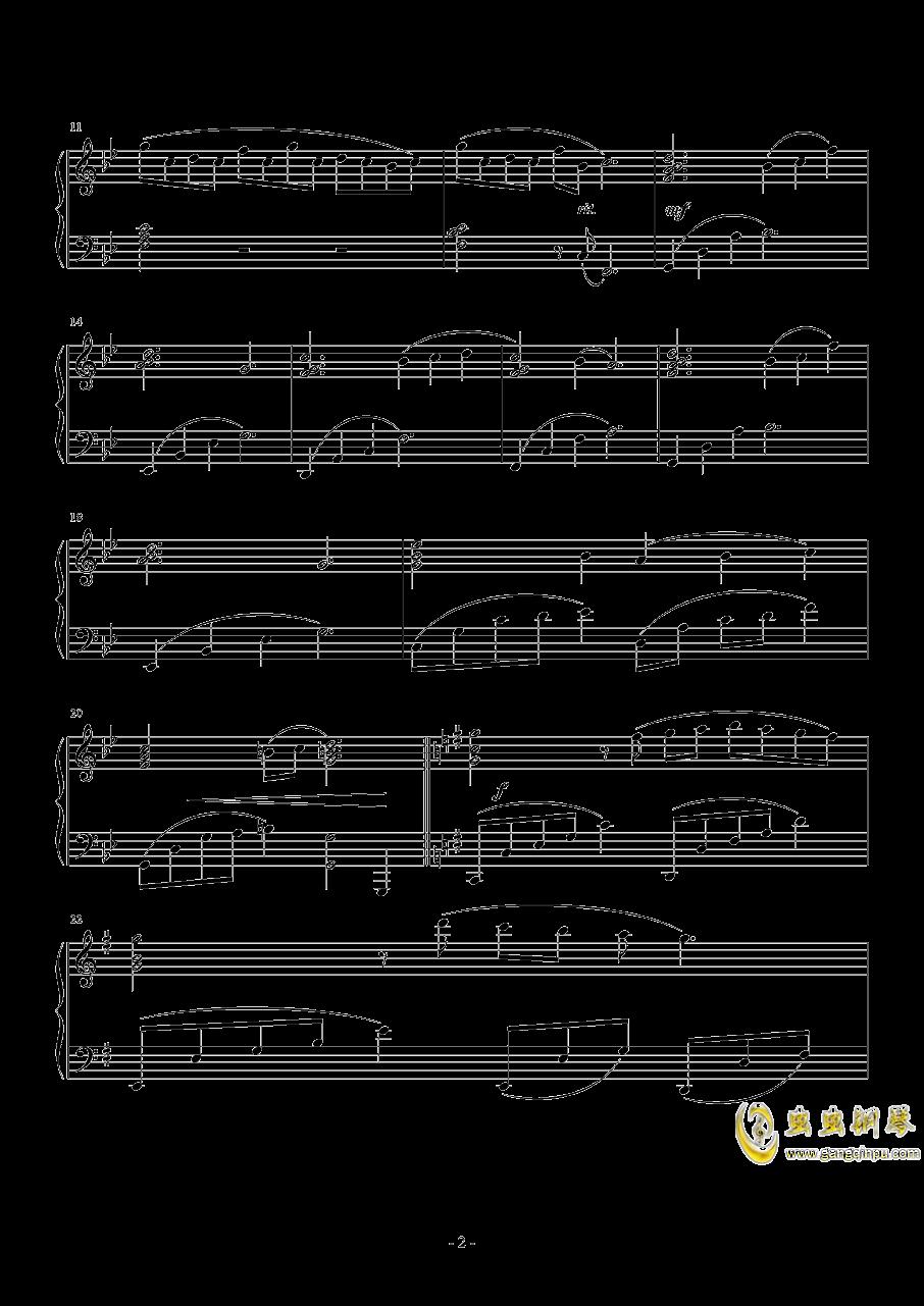 月之泪钢琴谱 第2页