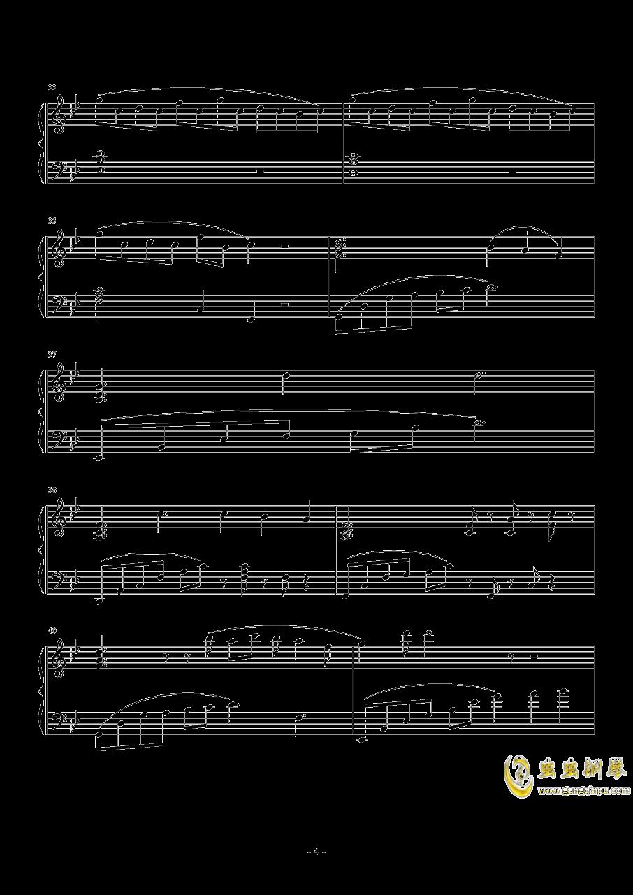 月之泪钢琴谱 第4页