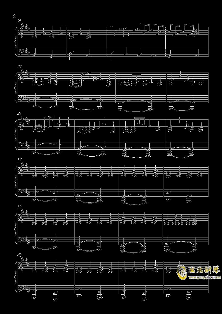 perfect 钢琴谱 第2页