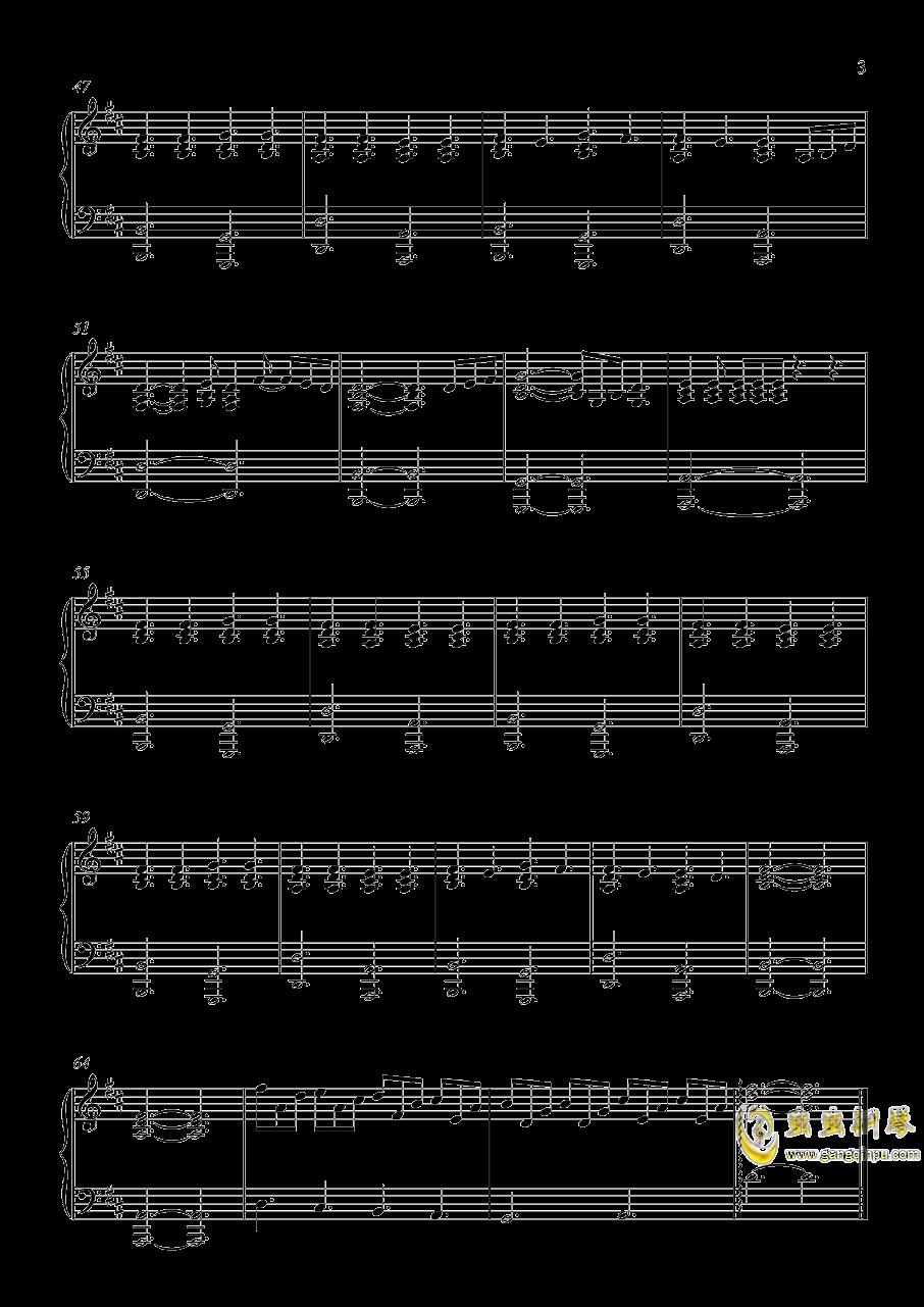 perfect 钢琴谱 第3页