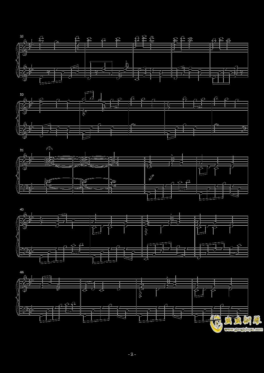 sis puella magica钢琴谱 第2页