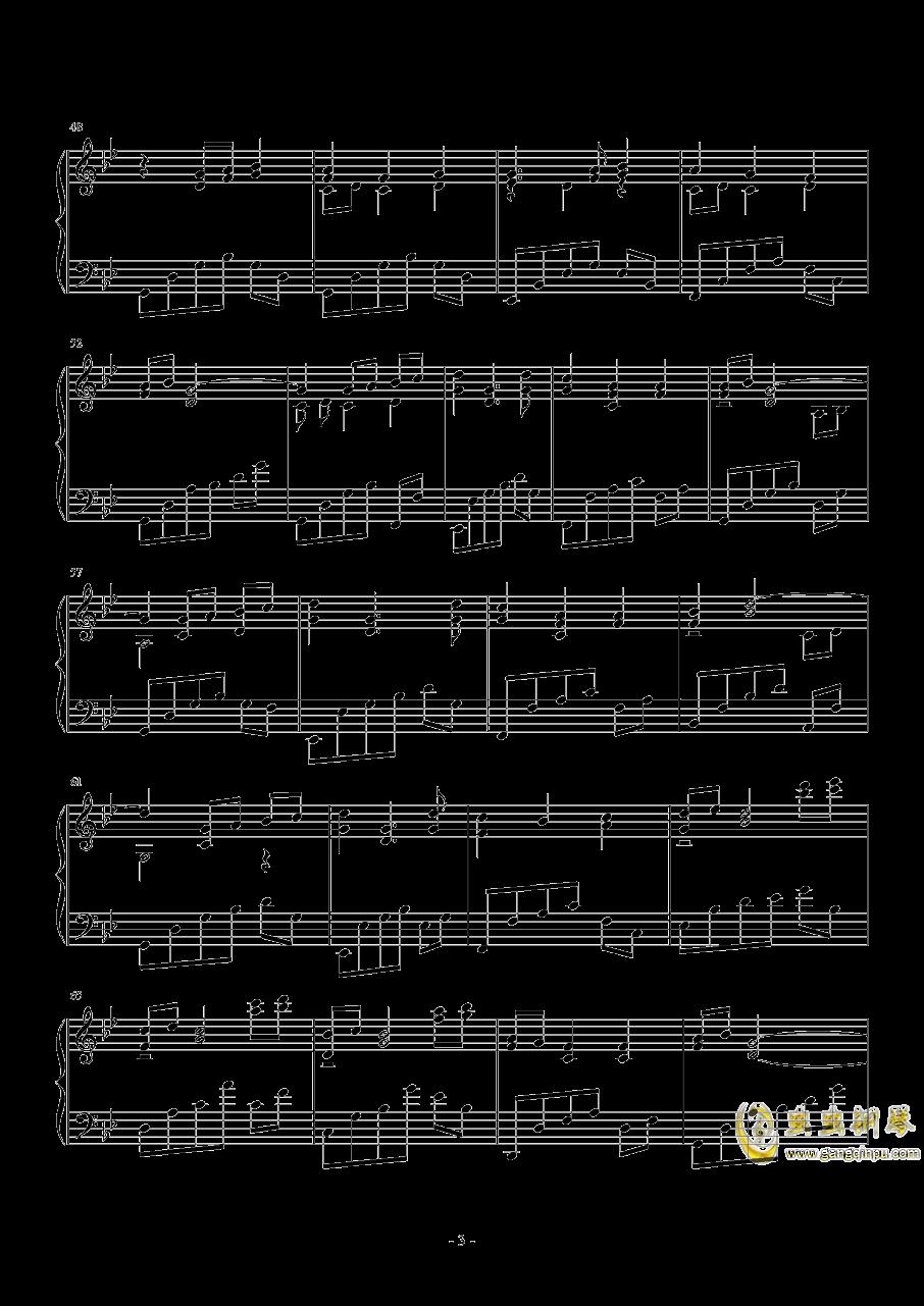 sis puella magica钢琴谱 第3页
