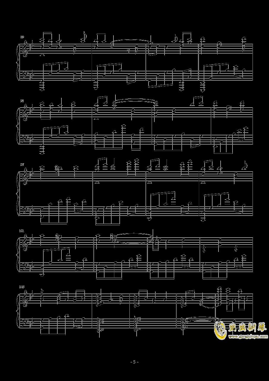sis puella magica钢琴谱 第5页