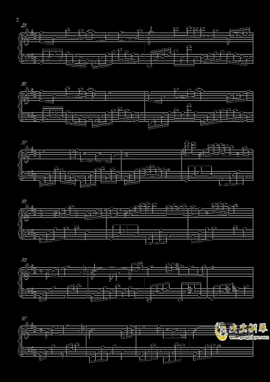 花瑟秋风钢琴谱 第2页