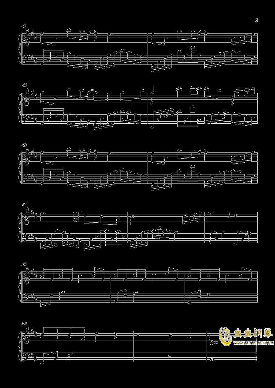 花瑟秋风钢琴谱 第3页