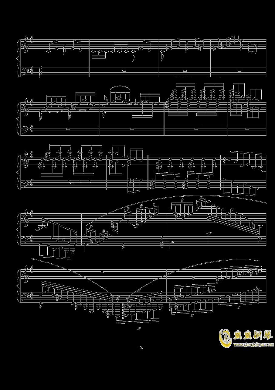 小随想曲钢琴谱 第2页