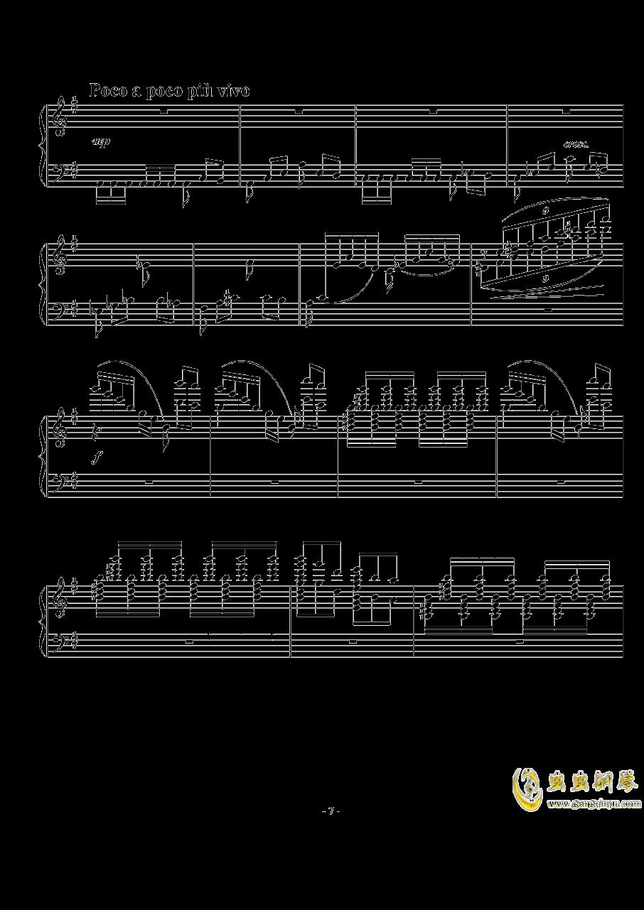 小随想曲钢琴谱 第7页