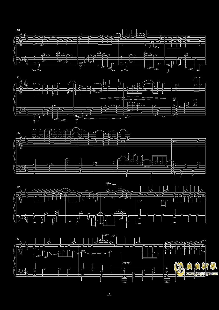 病名为爱钢琴谱 第2页