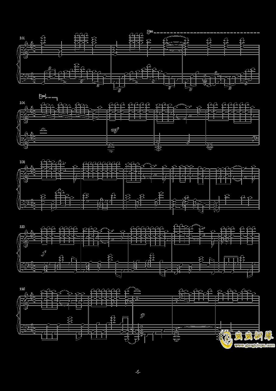 病名为爱钢琴谱 第6页