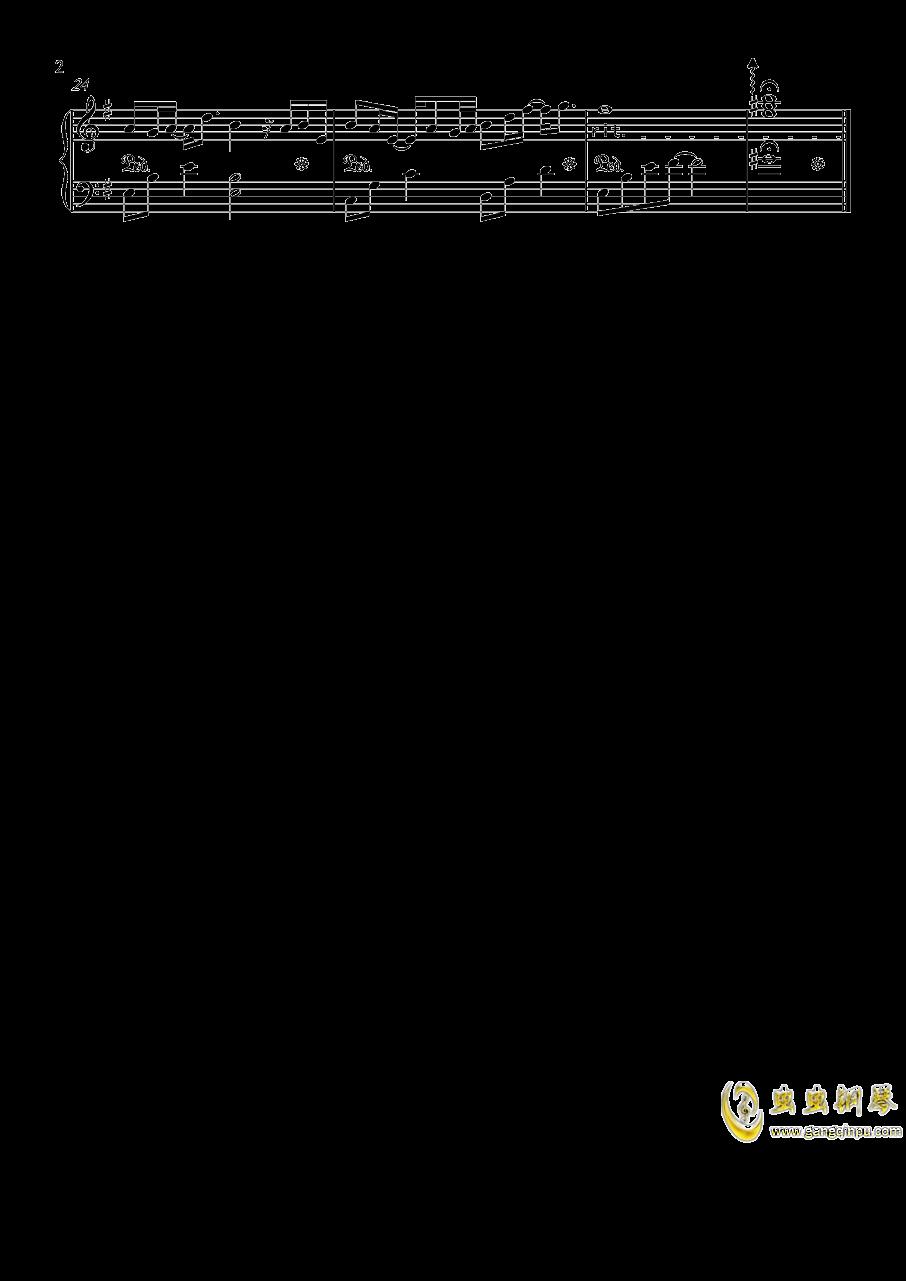似水流年钢琴谱 第2页