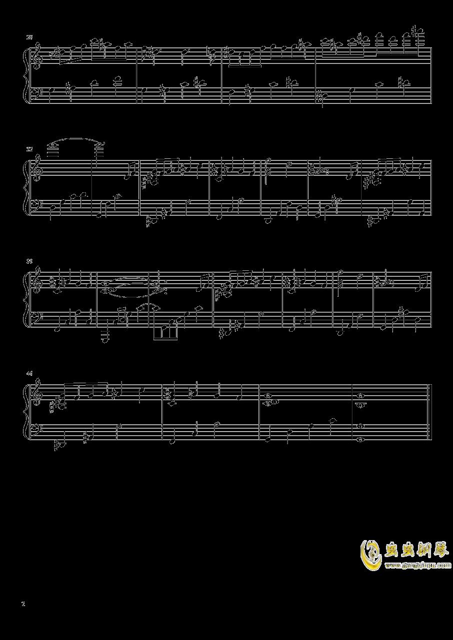 小溪之歌钢琴谱 第2页