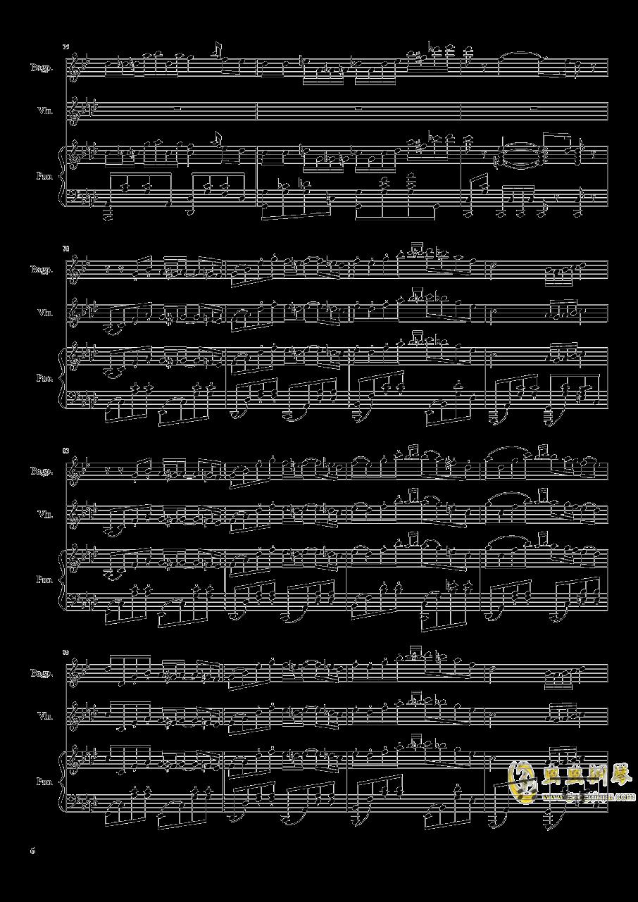 Quo Vadis钢琴谱 第6页