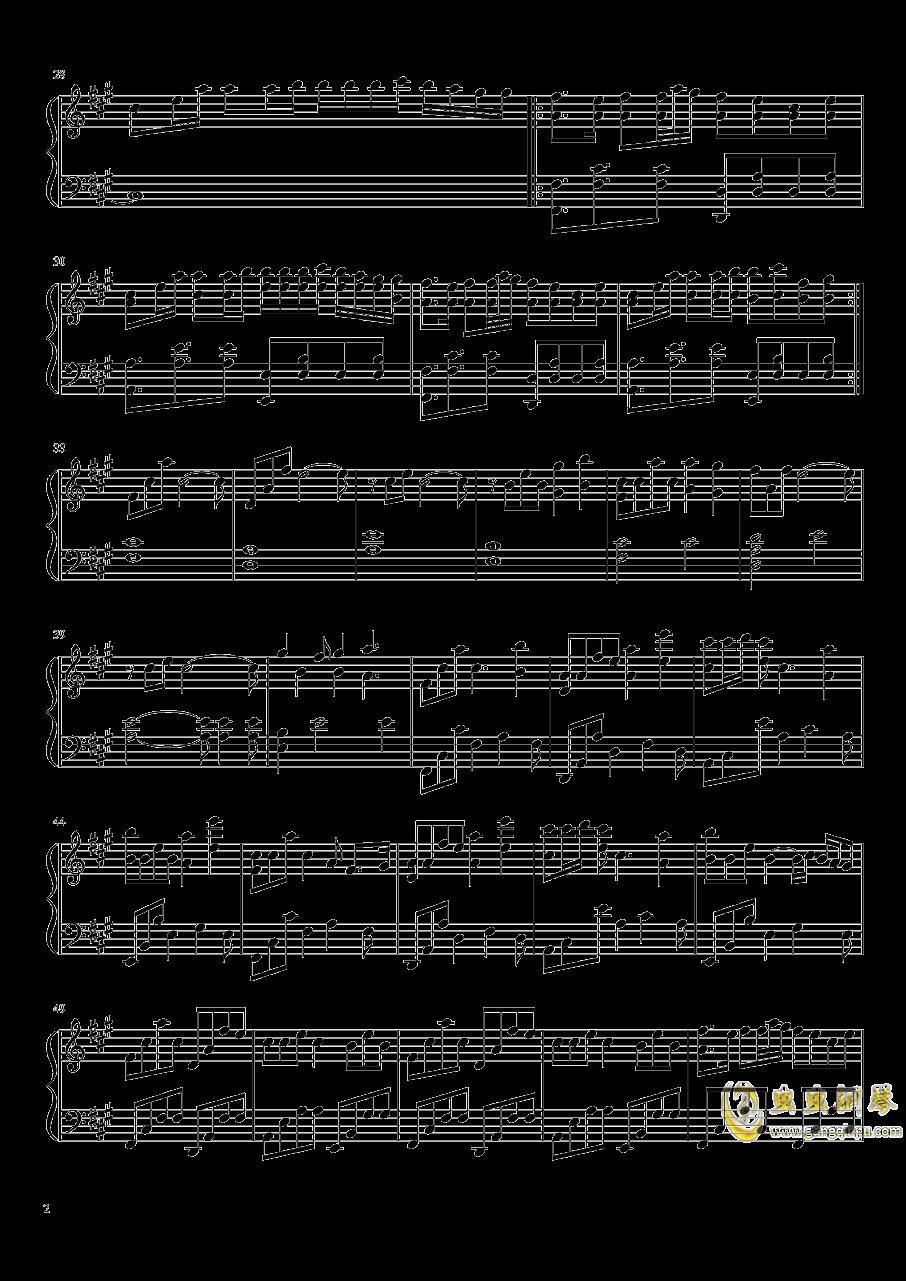 Alan Walker钢琴谱 第2页