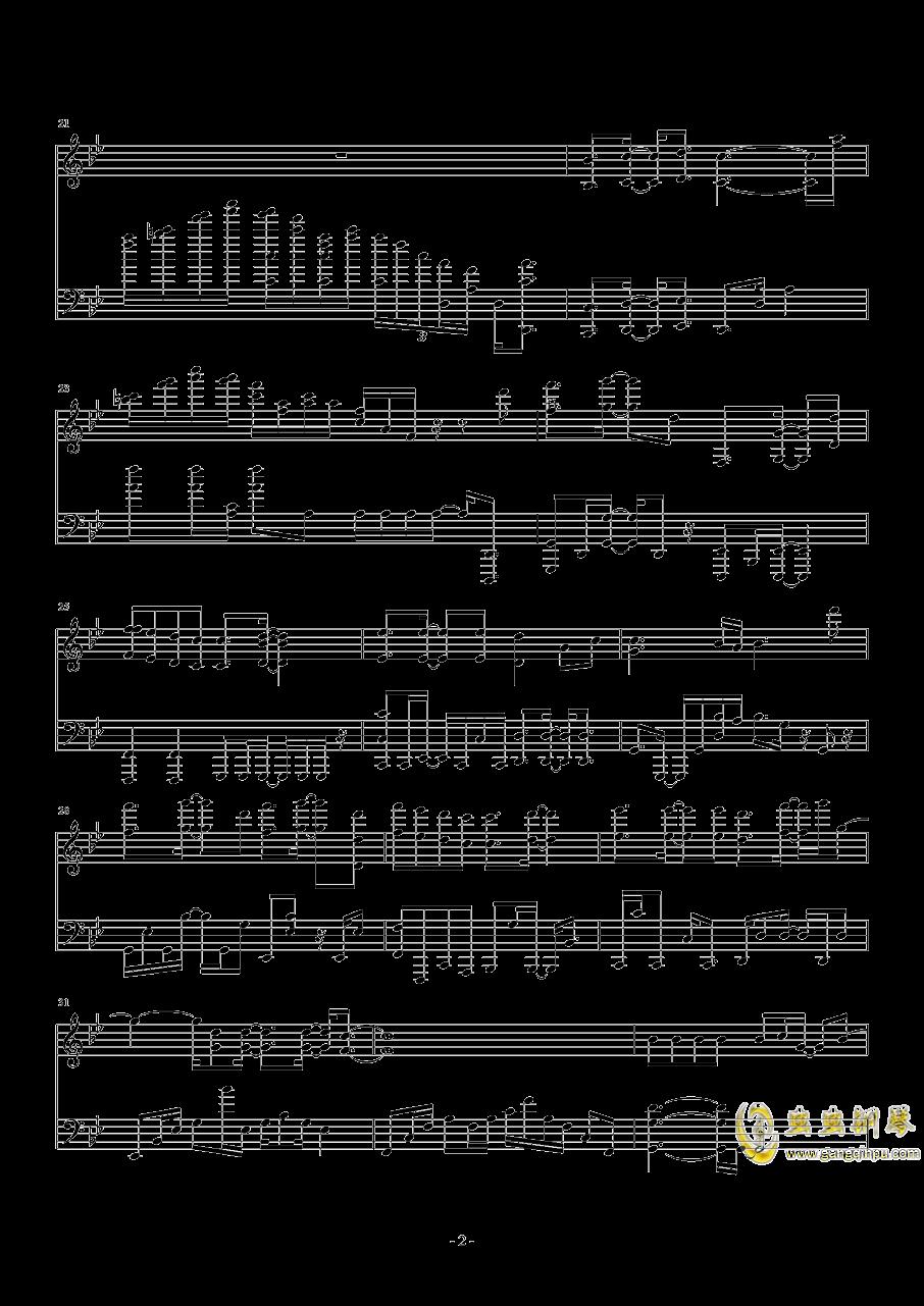 Break Up钢琴谱 第2页