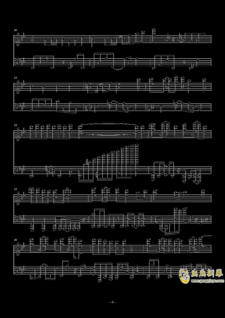 Break Up钢琴谱 第4页