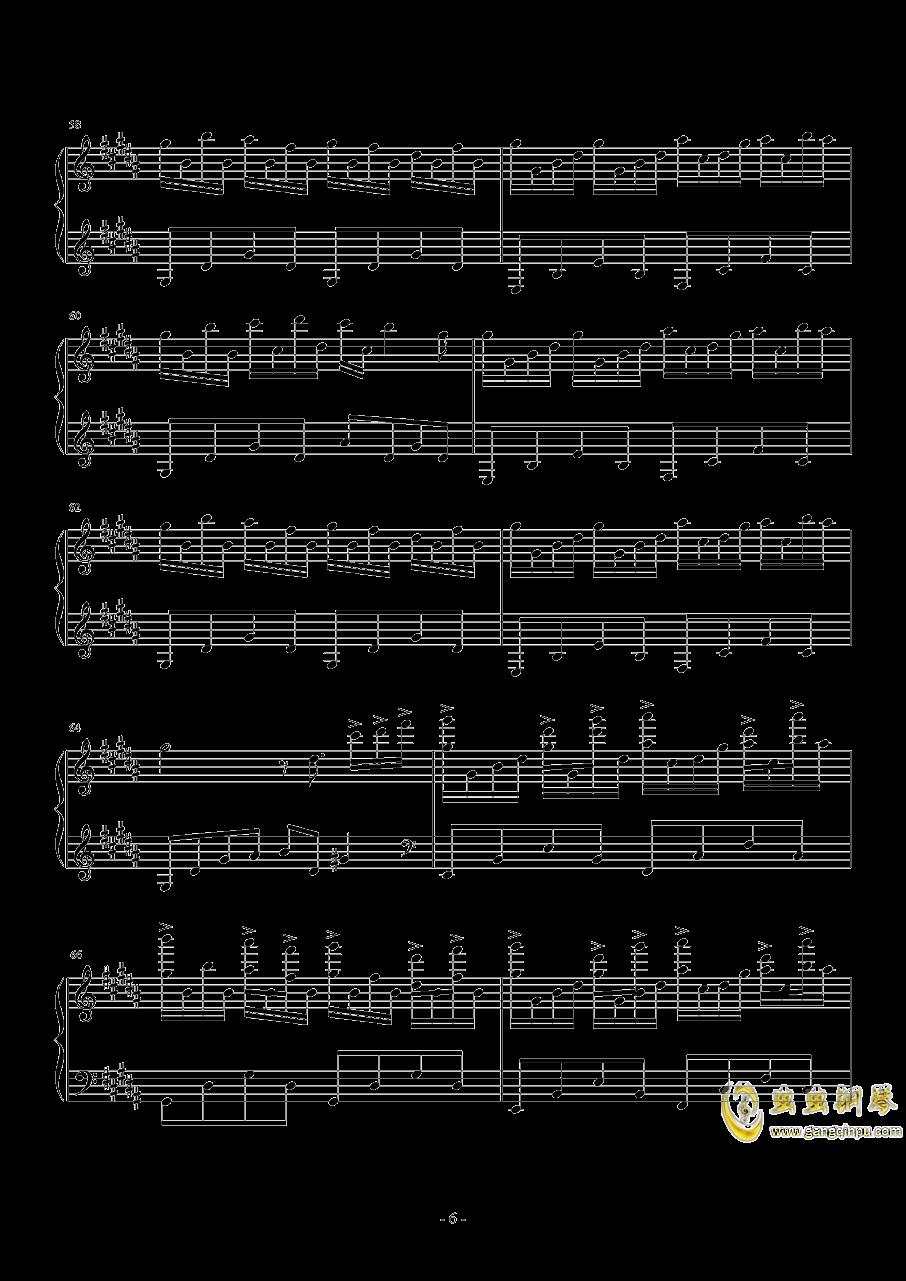 花之舞钢琴谱 第6页