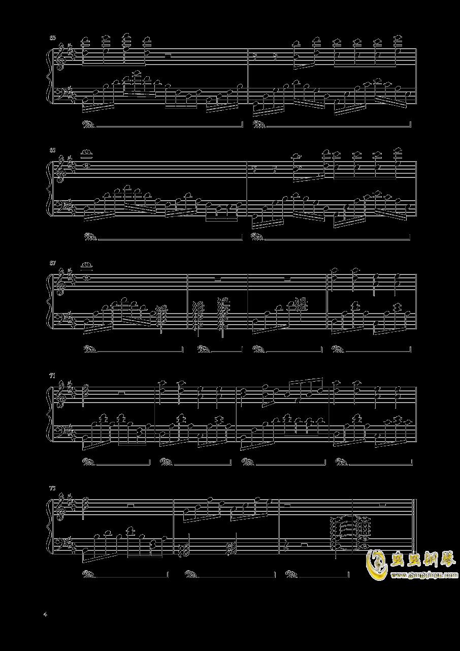 十二钢琴谱 第4页