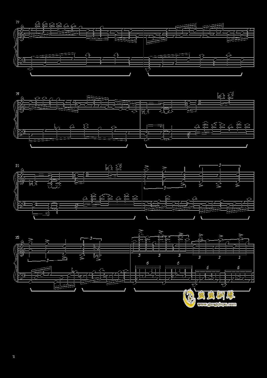 冥5钢琴谱 第2页