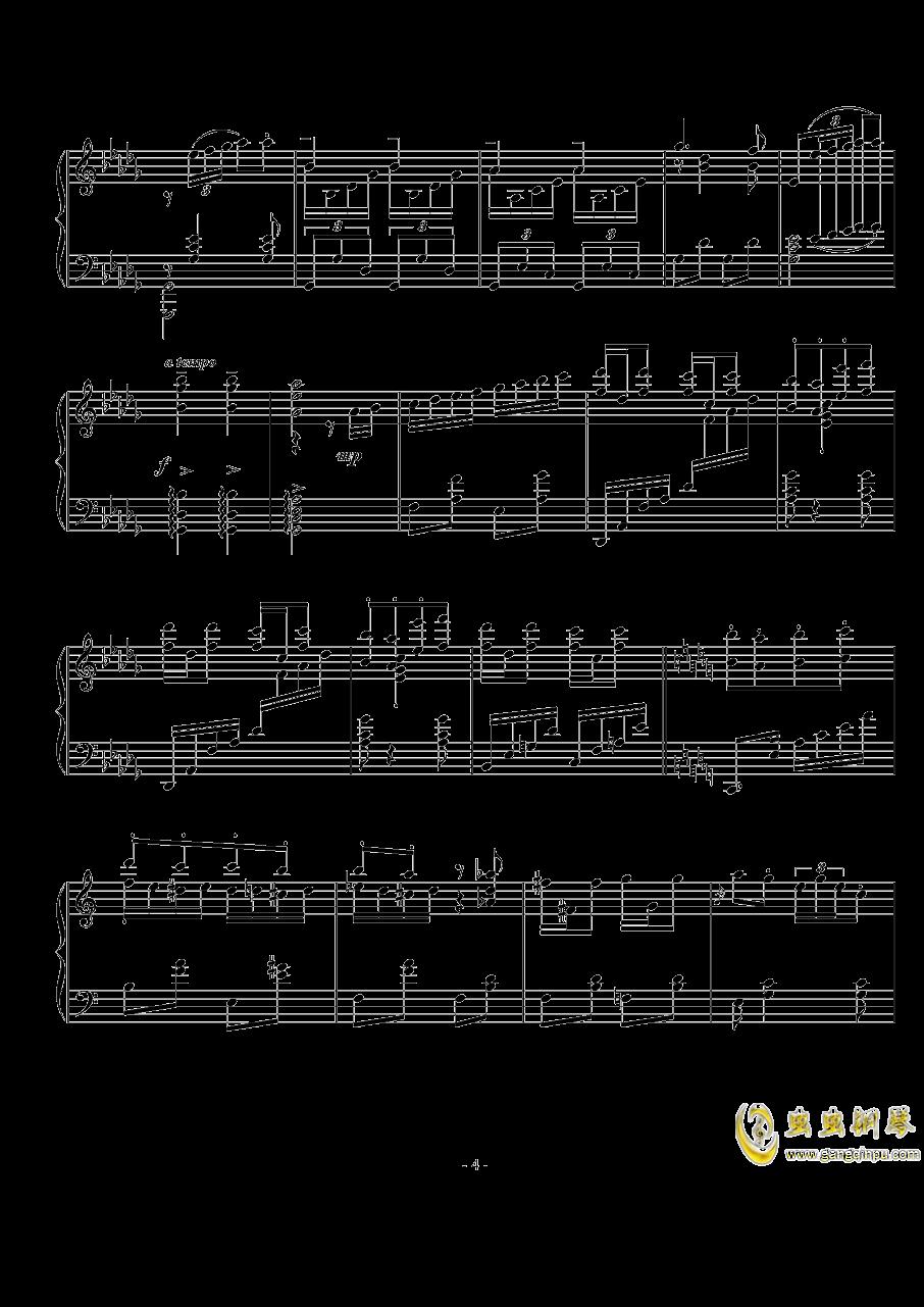 Op.74  No.3钢琴谱 第4页