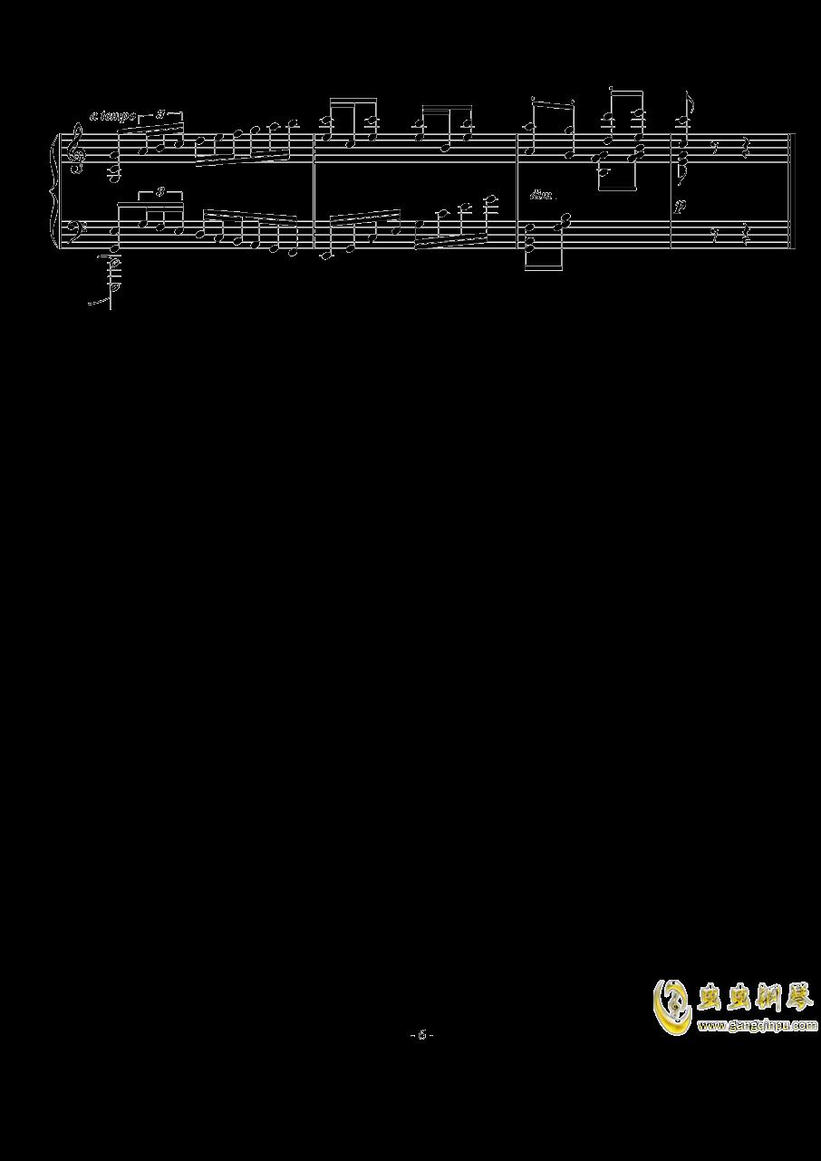 Op.74  No.3钢琴谱 第6页