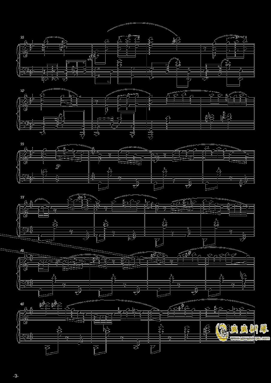 Por Una Cabeza钢琴谱 第2页