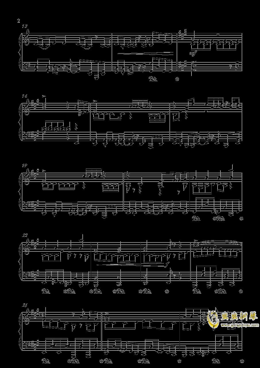 目标是神奇宝贝大师钢琴谱 第2页