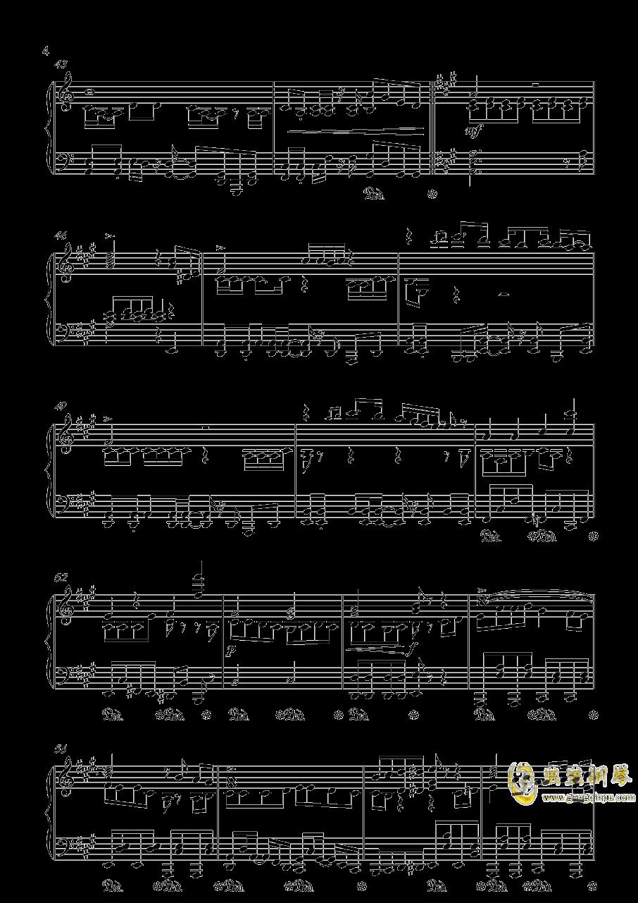 目标是神奇宝贝大师钢琴谱 第4页