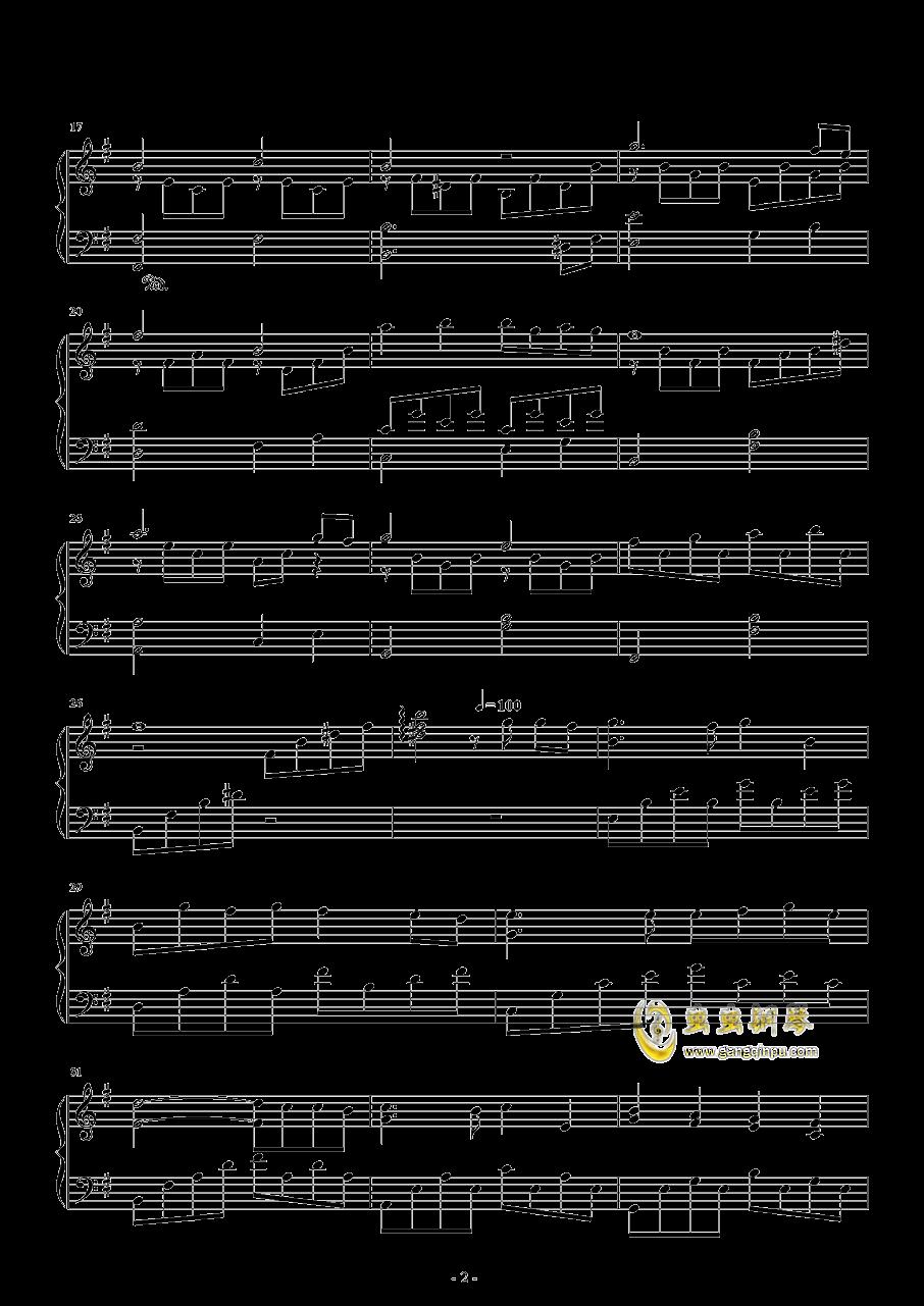 胡桃夹子钢琴谱 第2页