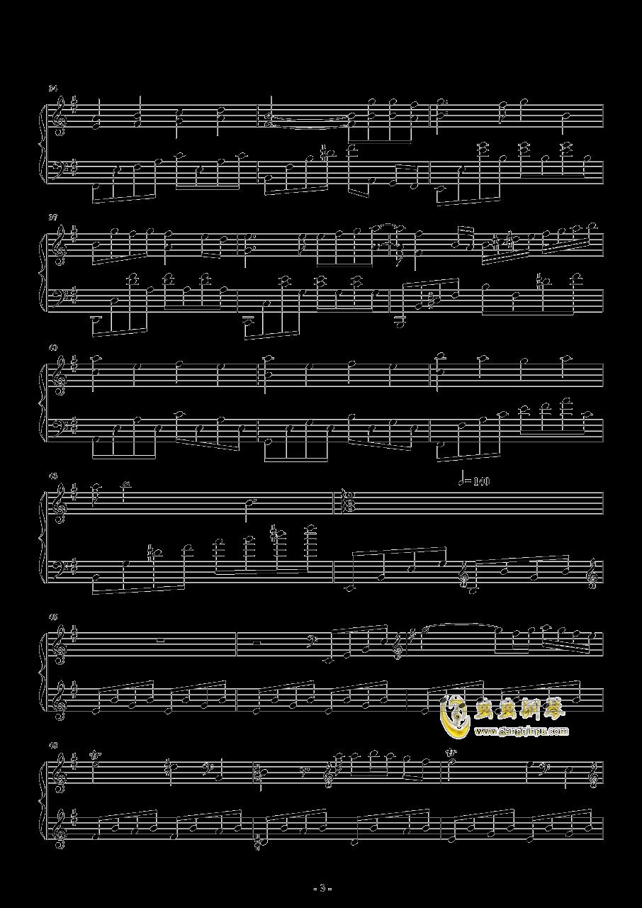胡桃夹子钢琴谱 第3页