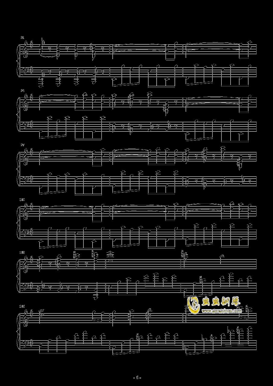 胡桃夹子钢琴谱 第6页