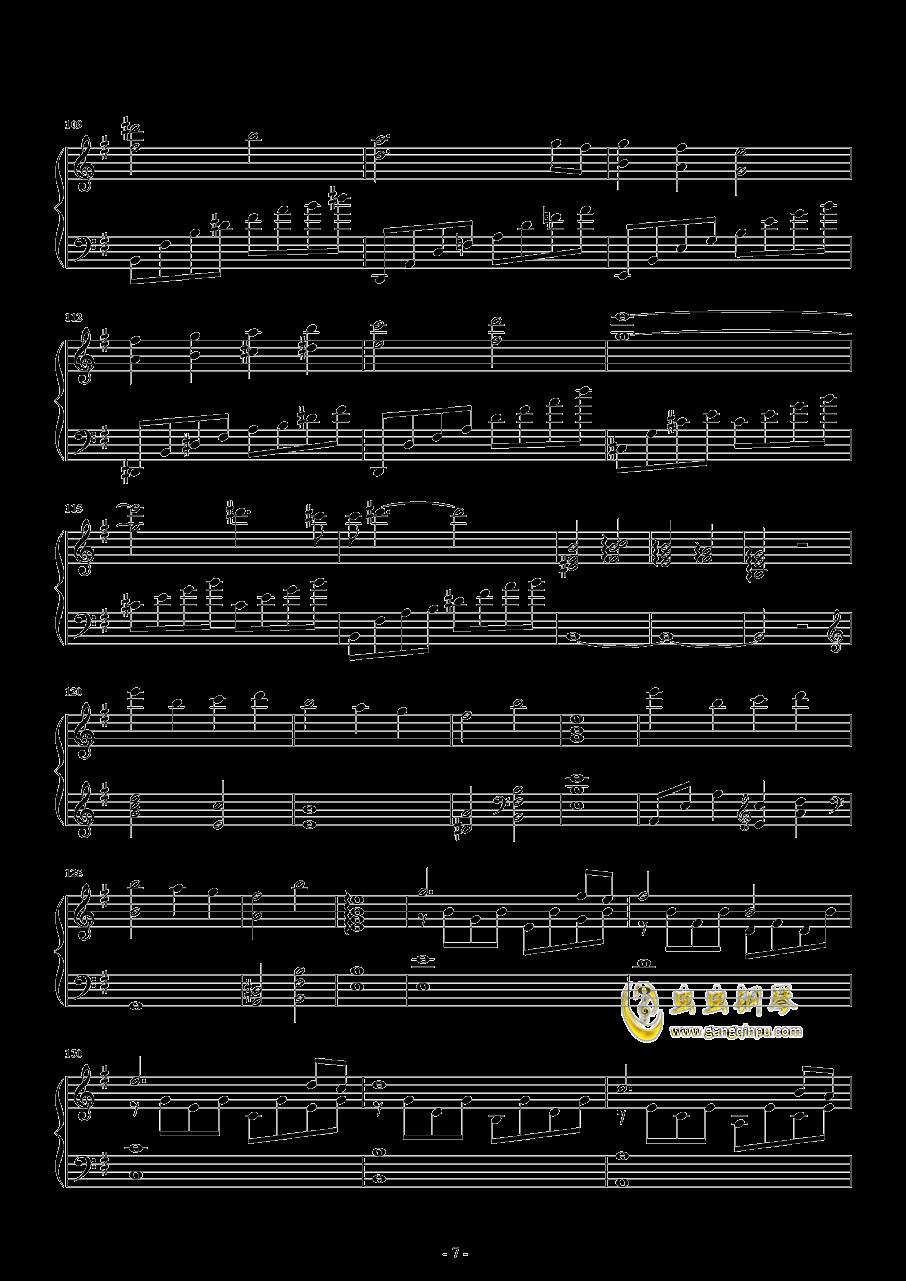 胡桃夹子钢琴谱 第7页