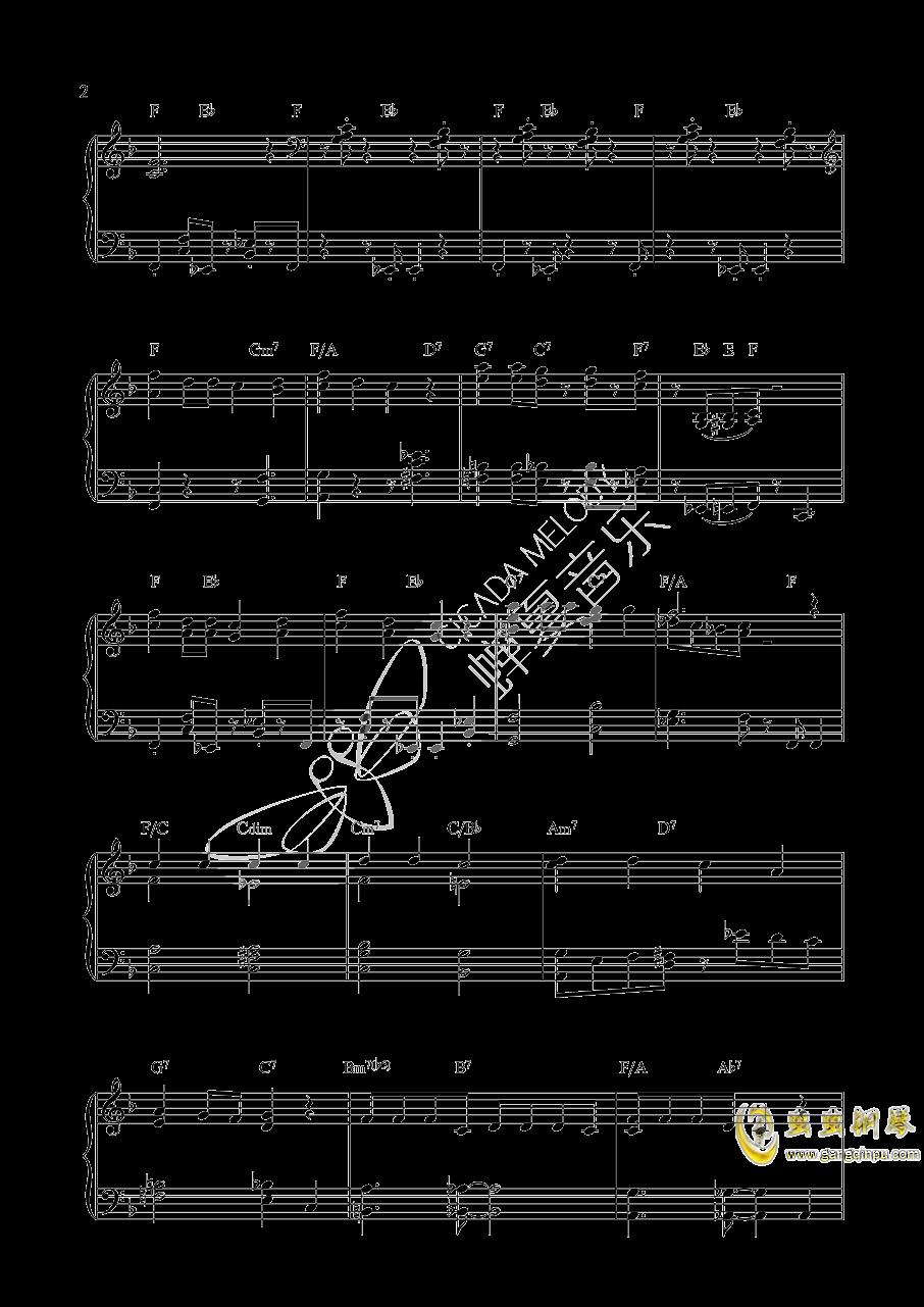 唐老鸭钢琴谱 第2页