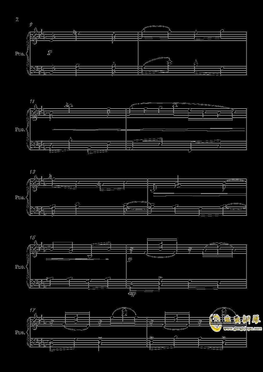 嬉 游钢琴谱 第2页