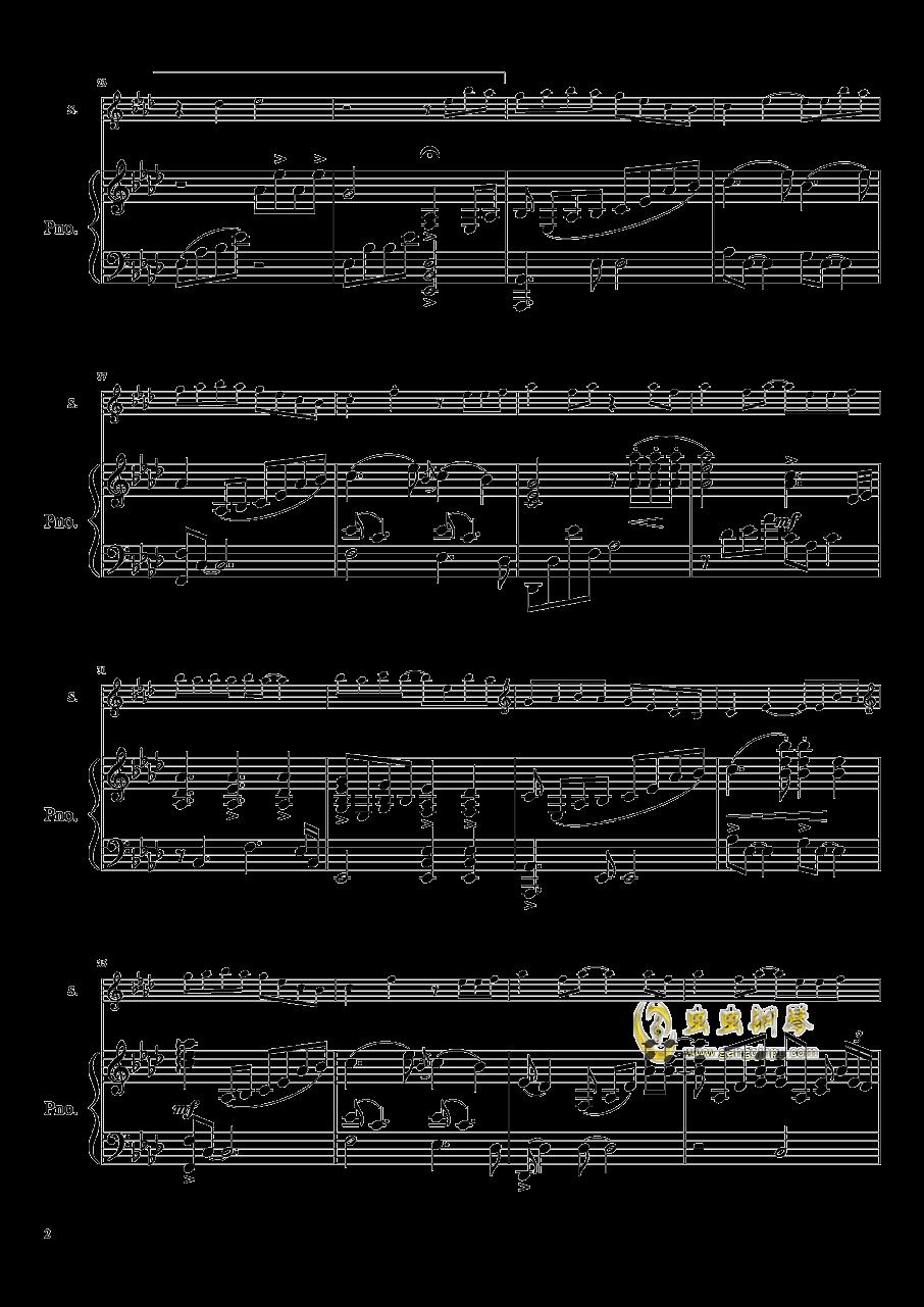 黑鸭子军人本色曲谱-钢琴谱 天黑黑 原版
