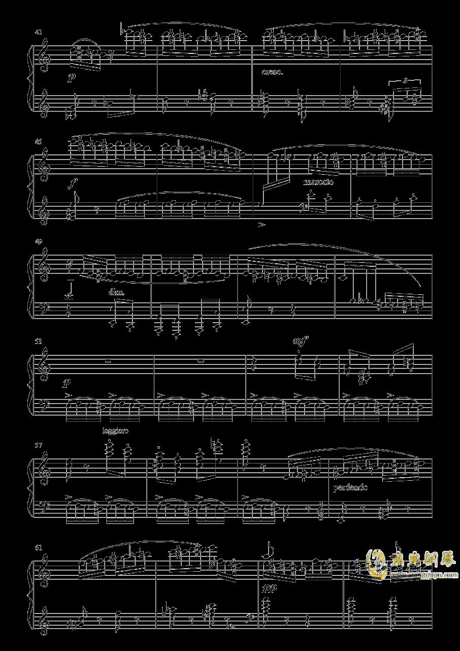野蜂飞舞钢琴谱 第3页