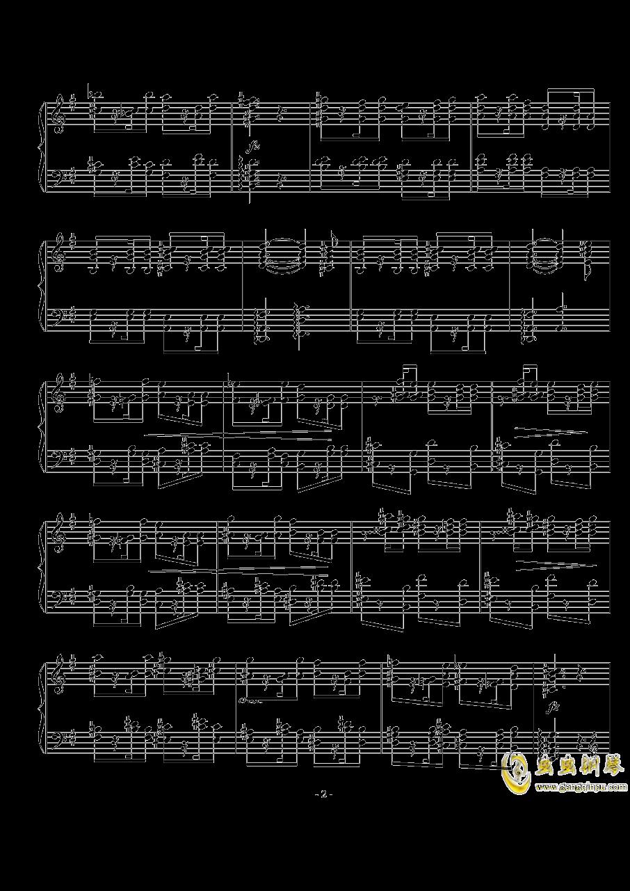 游戏钢琴谱 第2页