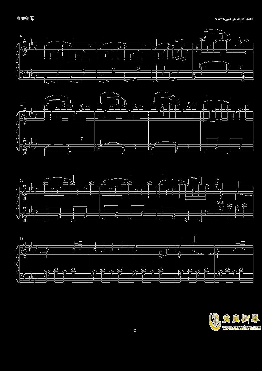 金鱼花钢琴谱 第2页