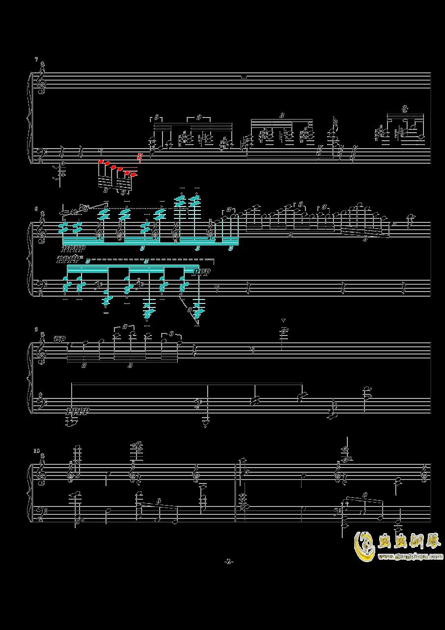 NO.-1 Op.7( 闷)钢琴谱 第2页