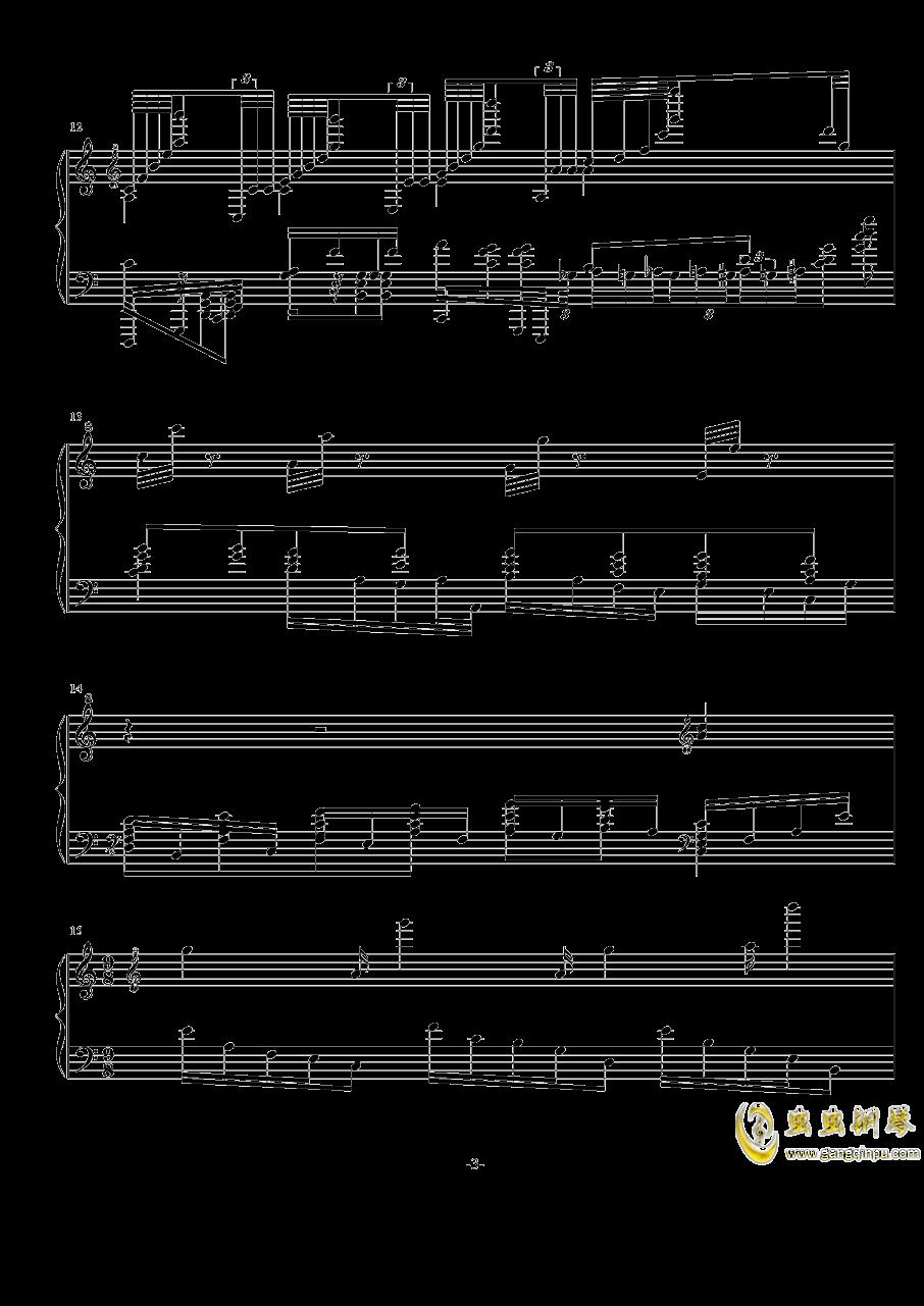 NO.-1 Op.7( 闷)钢琴谱 第3页