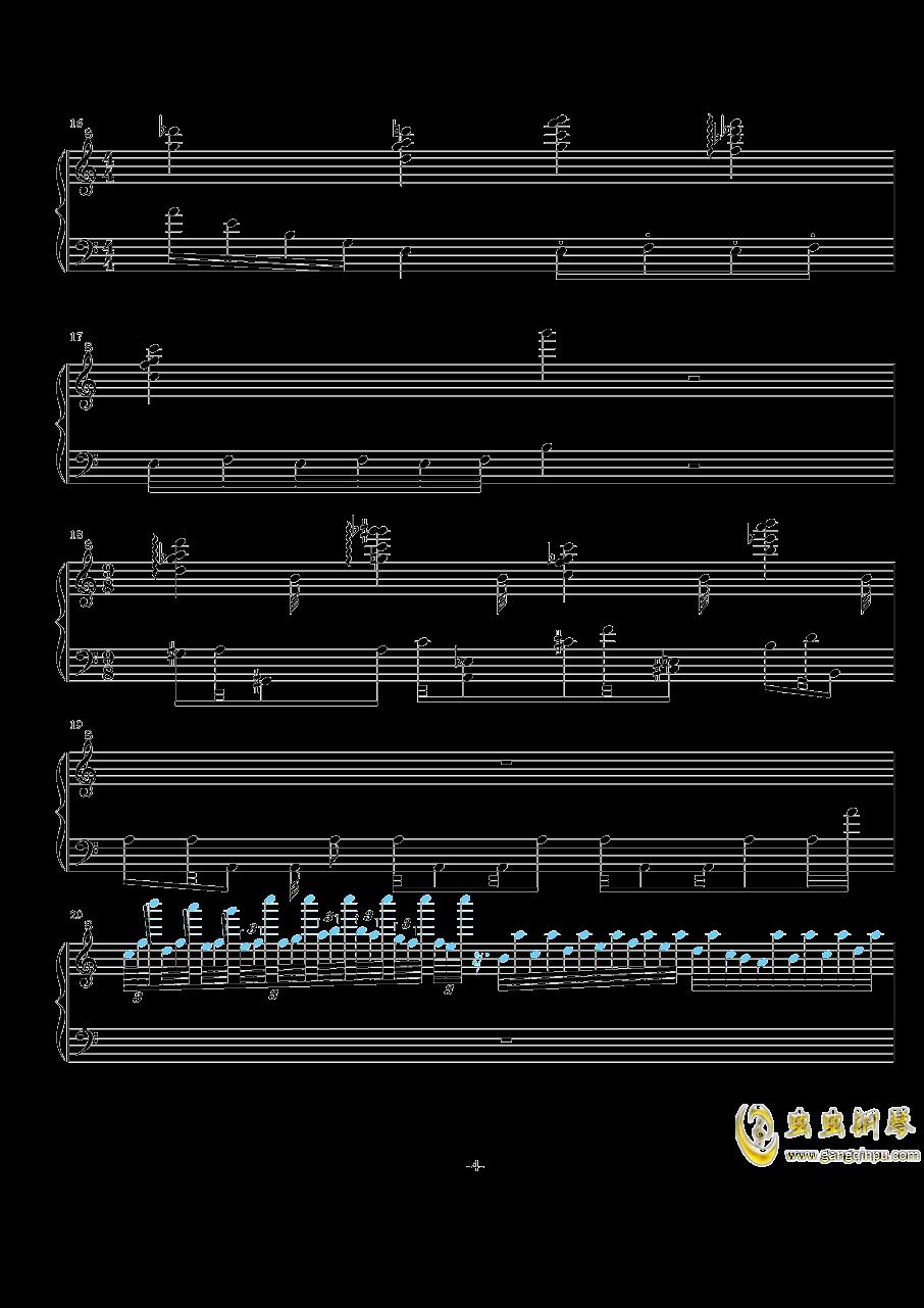 NO.-1 Op.7( 闷)钢琴谱 第4页