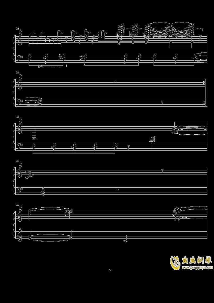 NO.-1 Op.7( 闷)钢琴谱 第5页