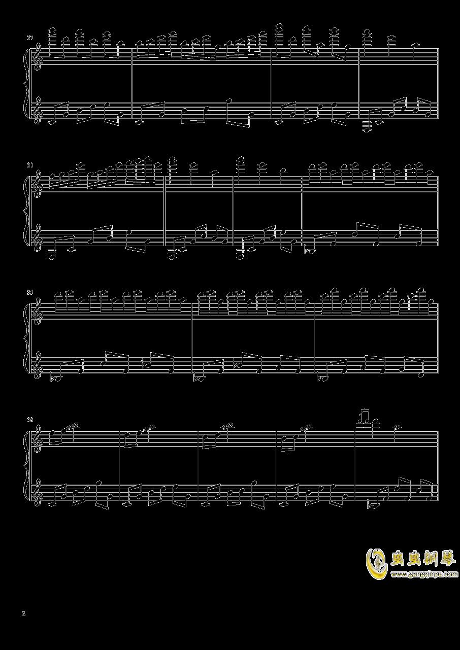 冥4钢琴谱 第2页