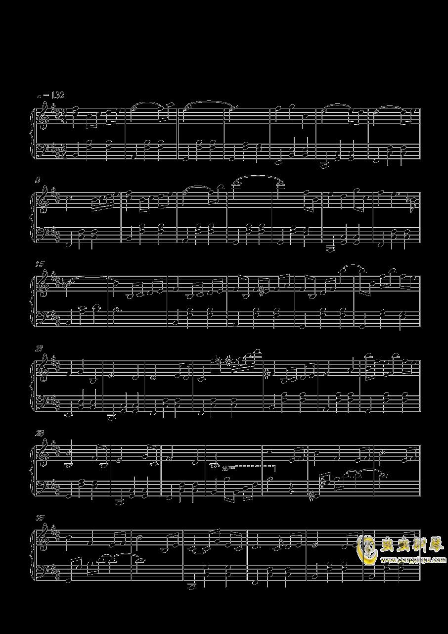 圣羽霓裳钢琴谱 第1页