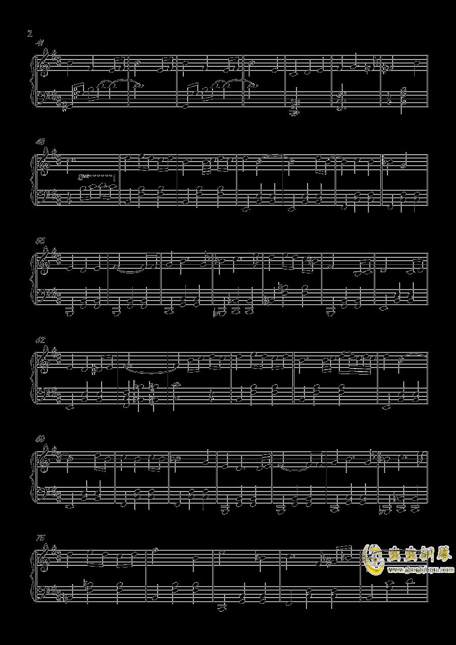 圣羽霓裳钢琴谱 第2页