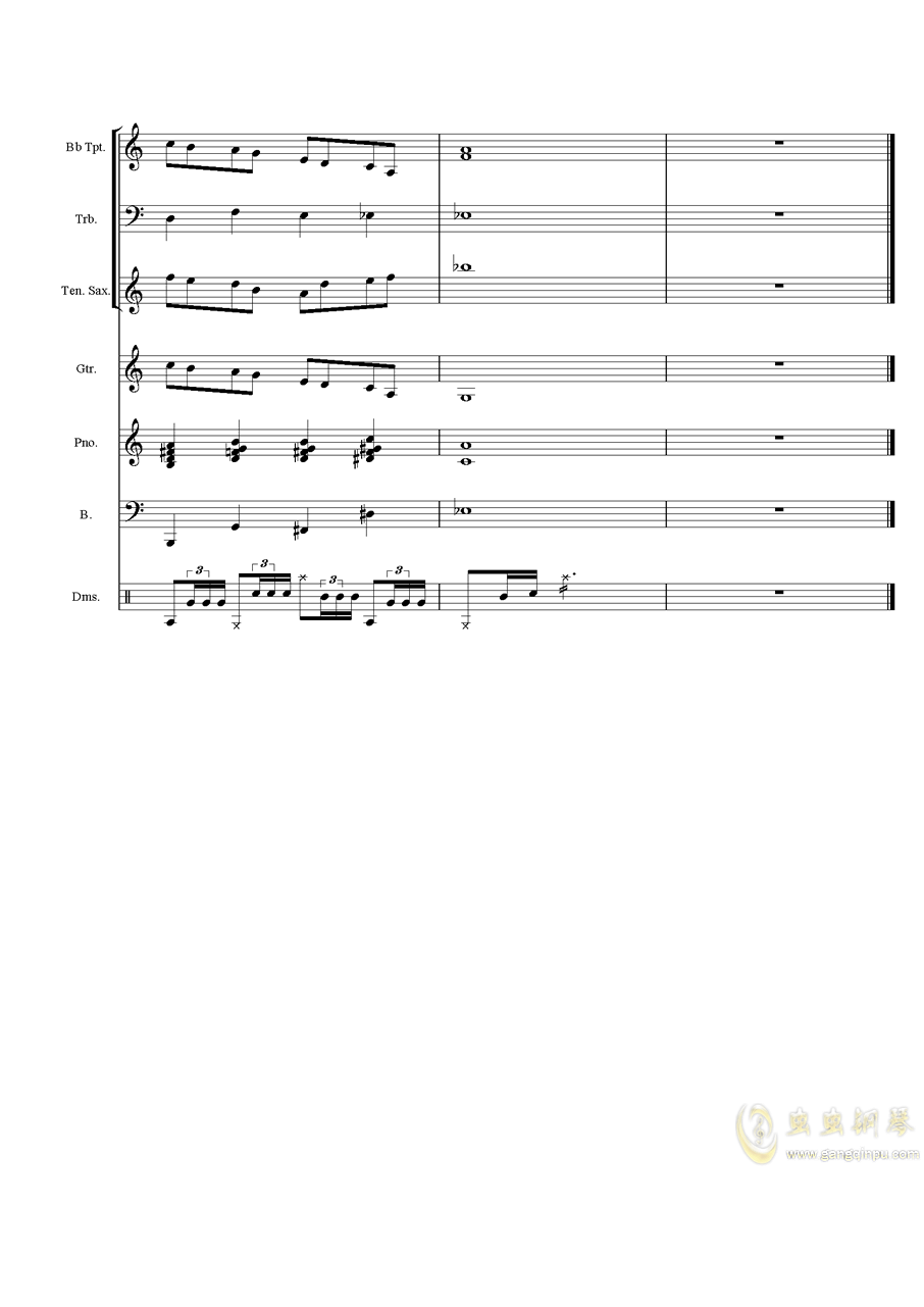 Melody2渐离魔音钢琴谱 第6页